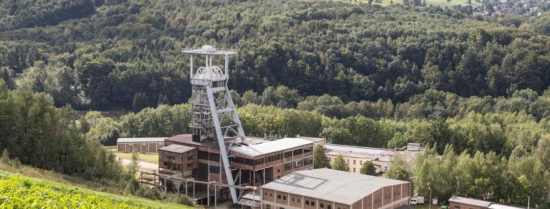 Bergbaulandschaft Uranbergbau