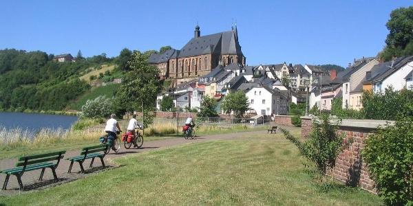 Saar Cycle Trail in Saarburg