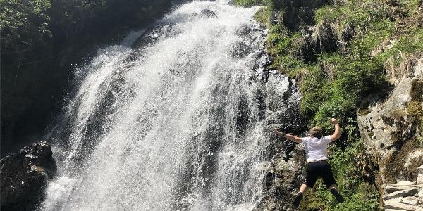 Egger waterfall