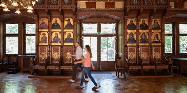 Fürstliches Residenzschloß Detmold - Innenaufnahme