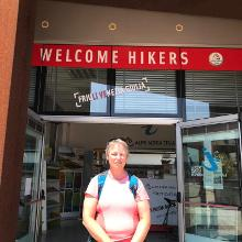Welcome Hikers Muggia Info Point