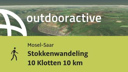 hiking trail in Mosel-Saar: Stokkenwandeling 10 Klotten 10 km