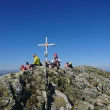 Gipfel Großer Bösenstein 2448 m