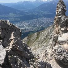 Blick nach Innsbruck