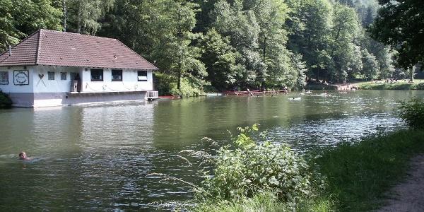 Bärenlochweiher in Kindsbach