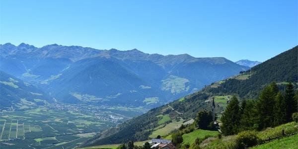 Venosta valley panoramic tour, Tanas