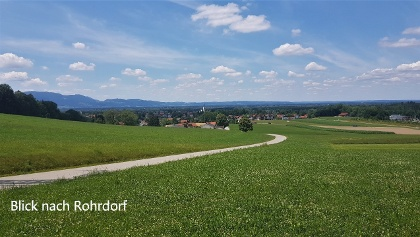 Blick auf Rohrdorf