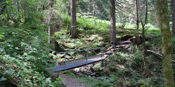 Brücke auf dem Kappeler Höhenweg