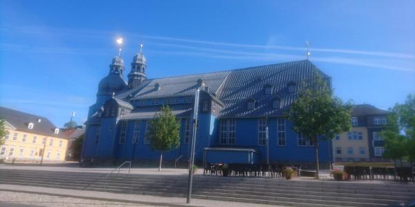 Die Kirche von Clausthal-Zellerfeld