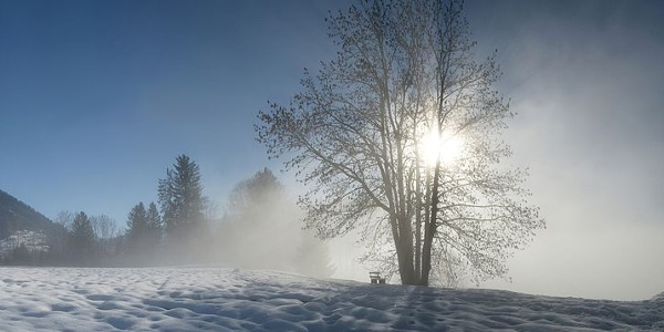 Hittisau im Winter