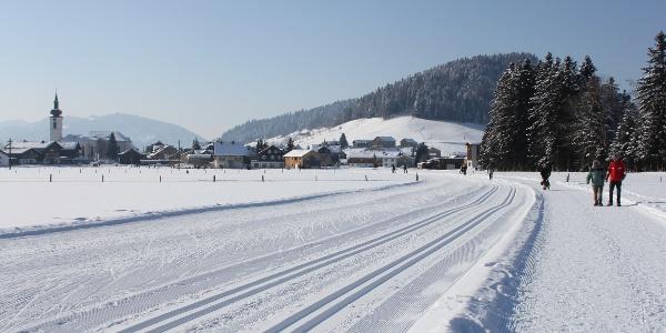 Rund ums Dorf in Hittisau