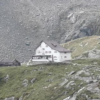 Blick zurück auf die Neue Regensburger Hütte