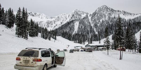 Parkplatz Whitewater Ski Resort