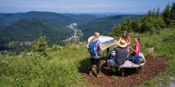 Naturpark AugenBlick Bad Herrenalb neben der Schweizerkopfhütte