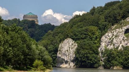 Donaudurchbruch bei Kelheim