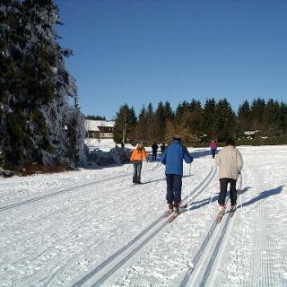 Langlaufloipe in Sankt Andreasberg