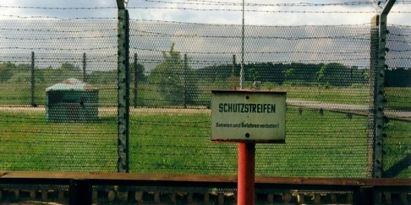 Grenzlandmuseum - Darstellung ehemaliger Grenzzaun