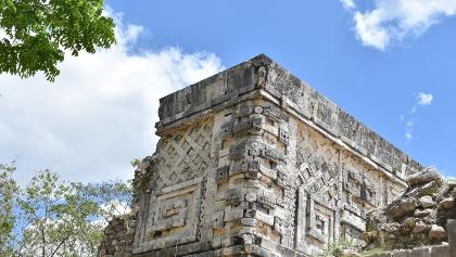 Edificio maya en Uxmal