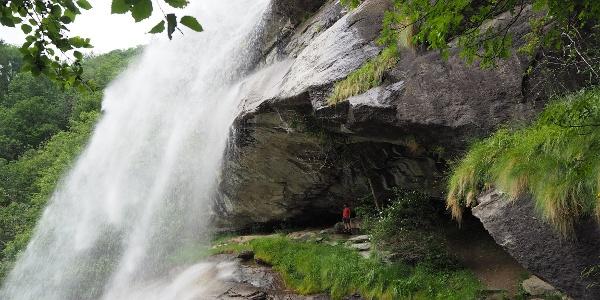 Die Wasserfälle von Noasca