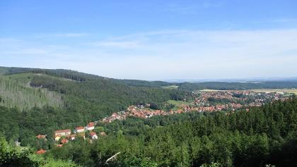 Blick über Ilsenburg