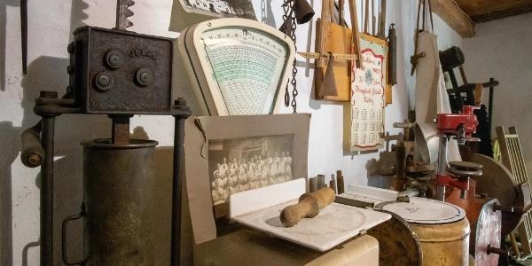 Ausstellungsraum Fleischereimuseum
