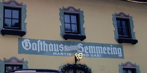 """Gasthaus """"Zum kleinen Sememring"""""""
