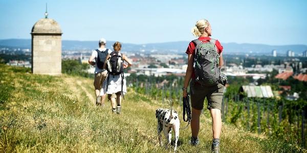 Wandern am 1.Wiener Wasserleitungswanderweg