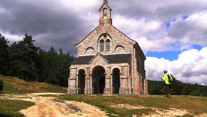 St. Roch: Kapelle auf Monts de la Margeride