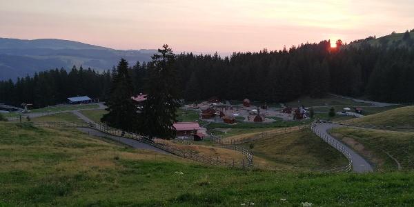 Sonnenaufgang über der Bärenfalle
