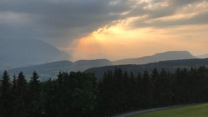 Blick vom Gasthaus Alpenrose Richtung Untersberg