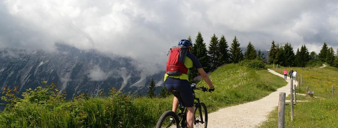 Biketouren durch das Chiemgau rund um Inzell