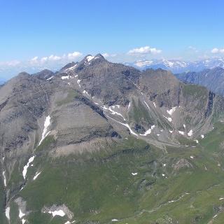 Wilde Kreuzspitze von der Wurmaulspitze