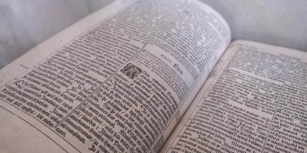 1642 den första finska bibeln (Nagu kyrkan)