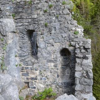 Vandans - Burgruine Valcastiel