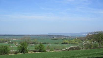 Aussicht vom südlichen Harzrand