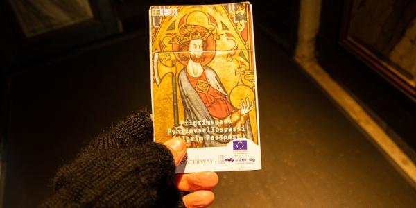 St. Olav Ways pilgrim passport/ pilgrim's credentials can be bought online or locally