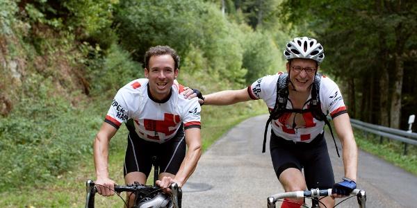 Rennradfahrer beim Schwarzwald Super! Rennradmarathon