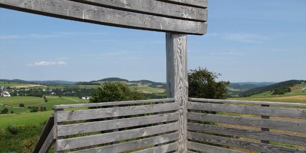 Ausblick vom Sauerland-Stabil