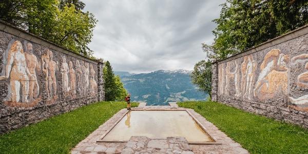 Ein Ort der Stille und des Friedens: das Paxmal von Karl Bickel