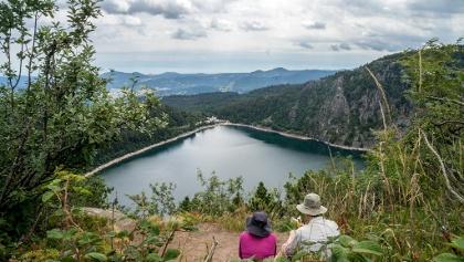 View to Lac Blanc