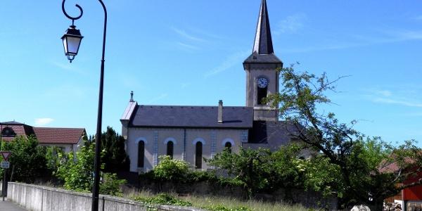 Neydens: Kirche
