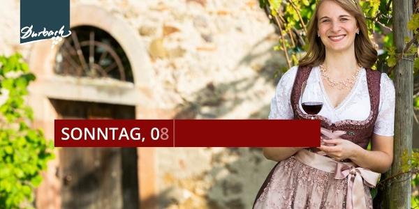 Ausblick auf den 25. Durbacher Weintag am Sonntag, 08. September 2019