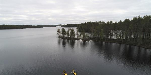 Lentua canoeing