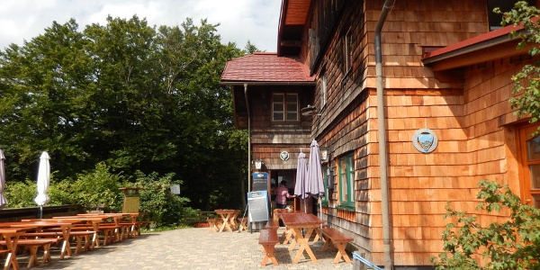 Hauptansicht der Kaiserkogelhütte
