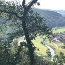 wunderschöner Ausblick auf die Weser