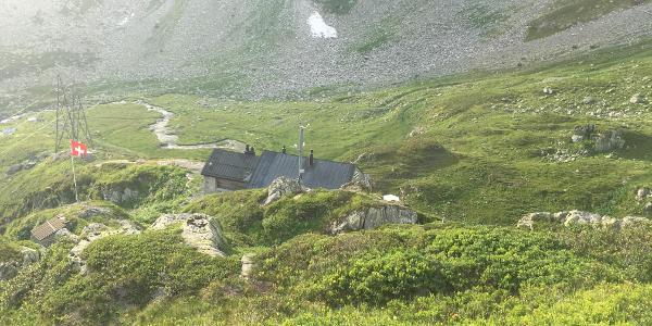 Blick zurück zur Etzlihütte.