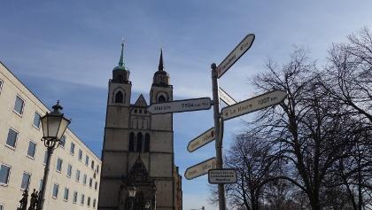 Telegraphenstation Nr.14 Magdeburg, Johanniskirche