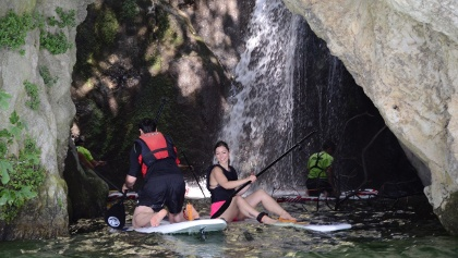 SUP: Waterfall Cascata del Ponale