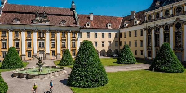 Donauradler beim Stift St. Florian
