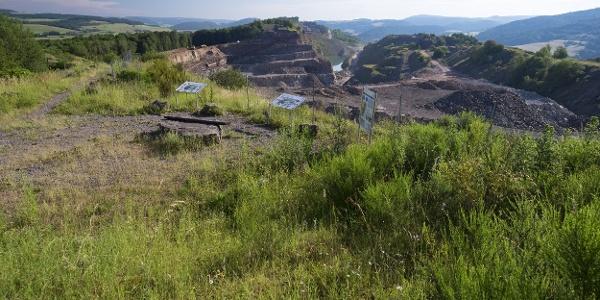 Steinbruchgelände Bei Rammelsbach